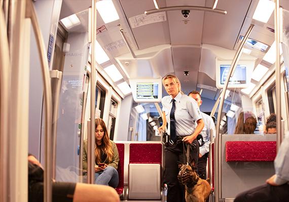 Sicherheit in der U-Bahn